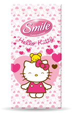 Smile Hello Kitty paper handkerchiefs 10pcs.