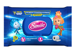 Smile The Fixies wet toilet paper 44pcs.