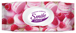 Smile Décor Cakes & Seashells wet wipes 60pcs.