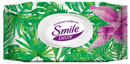 Smile Décor Tropics wet wipes 60pcs.